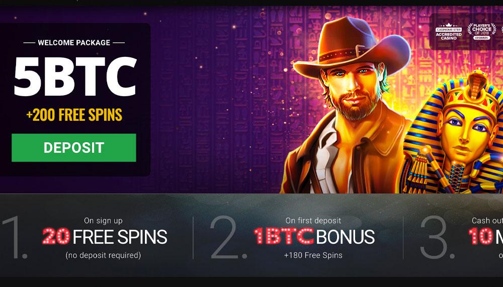Kasino bitcoin dalam talian percuma bonus tanpa deposit