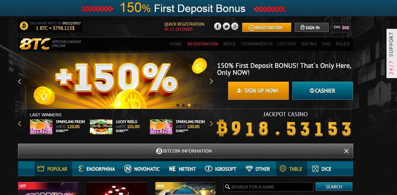 Slot bitcoin dalam talian kasino bitcoin